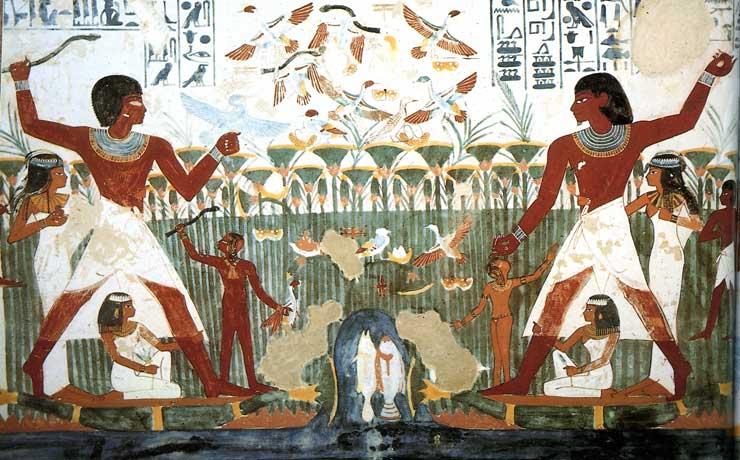 Egipto INFUENCIA EXTATERRESTRE Vogeljacht